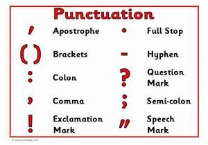 Quantum English: Punctuation