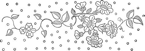 floral embroidery patterns pretty  graphics fairy