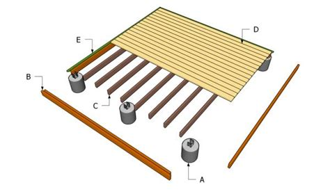 floating wood floor building a ground level deck diy ground