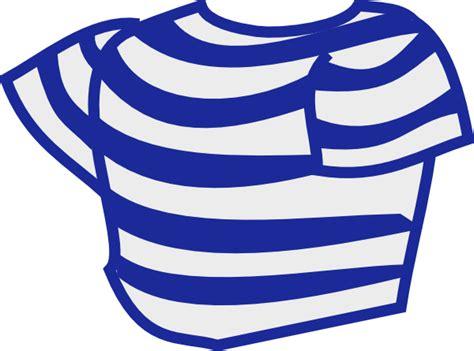 striped shirt clip art  clkercom vector clip art