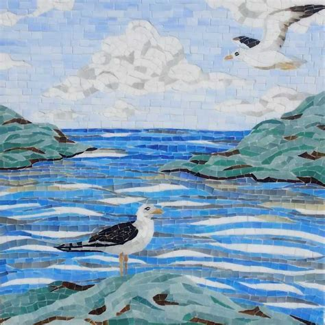 Beach Glass Mosaic    mosaic Tile, at The Tilery: Your New