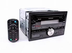 New Kenwood Dpx501bt In Dash Double Din Car Stereo Cd  Mp3