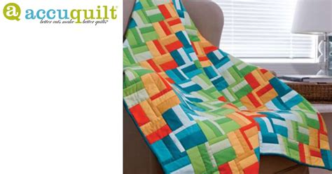 Go! Scrappy Rail Fence Quilt