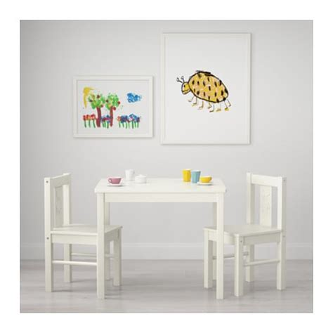 ikea chaise bebe kritter children 39 s table white 59x50 cm ikea