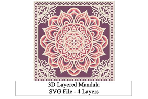 Sign up to receive her emails to get the password to her free. Layered 3D Cat Mandala Svg For Crafters - Free Layered SVG ...