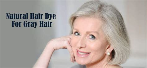 natural homemade hair dye  gray hair