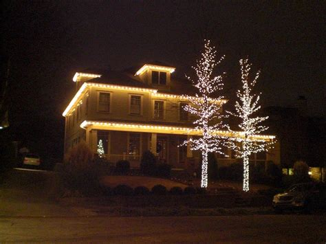 light decoration ideas for home outside christmas lights ideas homesfeed