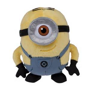 Despicable Me Minion with One Eye