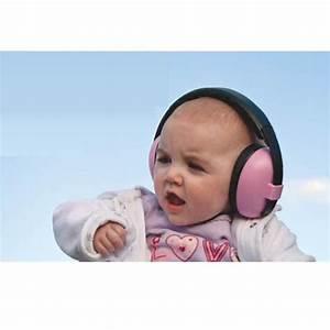 Casque Bébé Anti Bruit : casque anti bruit b b rose banz rose achat vente ~ Melissatoandfro.com Idées de Décoration