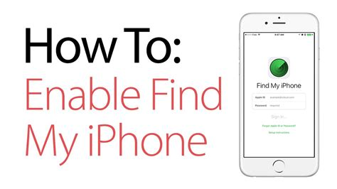 how to enable find my iphone how to enable find my iphone