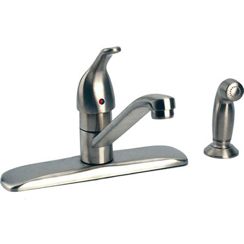 kitchen faucet pedal moen 87830sl touch kitchen faucet w side spray
