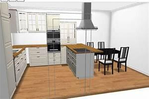 Ikea Einrichtungsideen Küche : k che mit kochinsel ikea ~ Lizthompson.info Haus und Dekorationen
