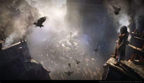 Assassins Creed Unity Concept Art By Gilles Beloeil