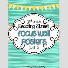 2nd Grade Reading Street Focus Wall Posters  Unit 1 From Briana Beverly On Teachersnotebookcom