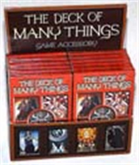 Deck Of Many Things Pathfinder by The Deck Of Many Things Green Ronin Publishing