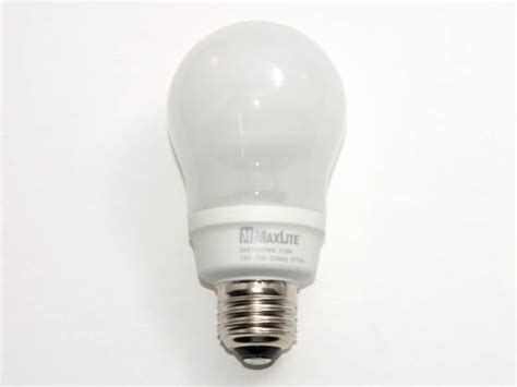 maxlite 60 watt incandescent equivalent 13 watt 120 volt