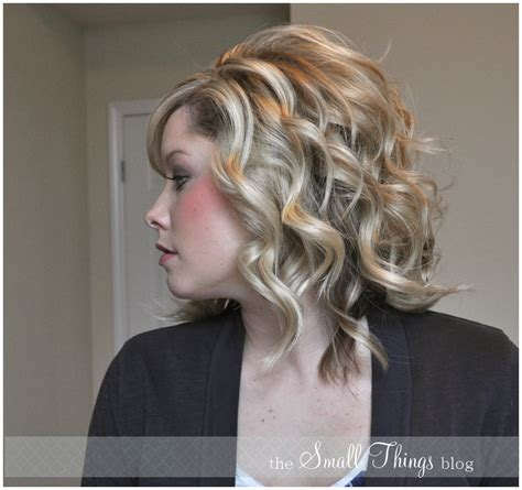 iron hair style curling hair with a flat iron hair style and color
