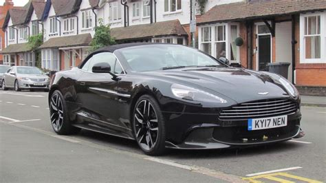 2018 Aston Martin Vanquish S Volante First Drive Review