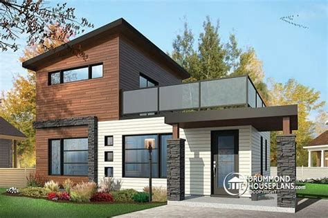 2 floor house w1703 2 storey 2 bedroom small and tiny modern house with deck on 2nd floor affordable