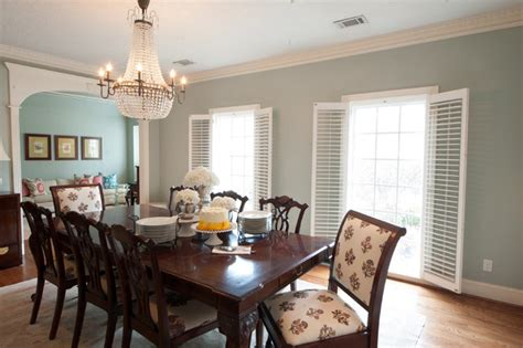Southern Living Style Dining Room Traditional