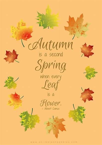 Autumn Printables Posters Fall Quote Poster Leaf
