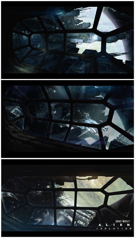 Alien Isolation Concept Art By Brad Wright Concept Art