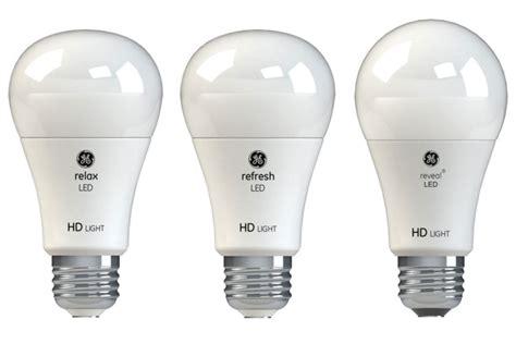 ge relax refresh  reveal led light bulb reviews   terrific techhive