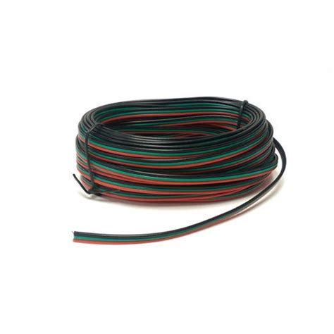 point motor wire red green black 10m