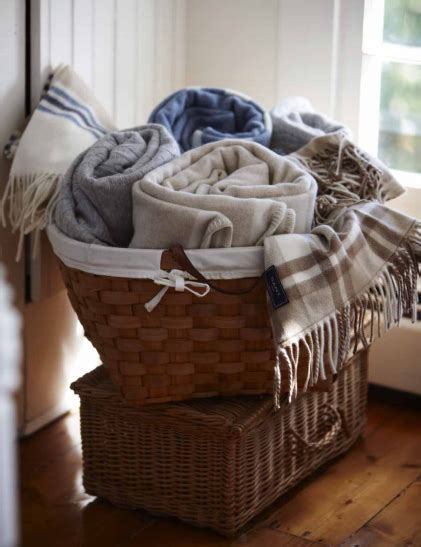 blanket basket ideas  pinterest blanket