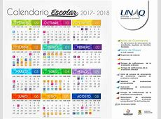 Calendario escolar UNAQ Universidad Aeronáutica en