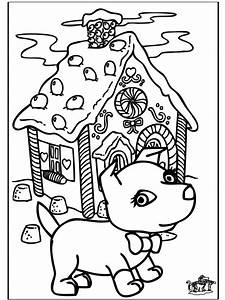 Christmas Dog Coloring Pages - Coloring Home