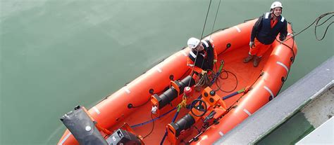 Types Of Rescue Boats by Acebi Davits Lifeboats And Deck Equipment
