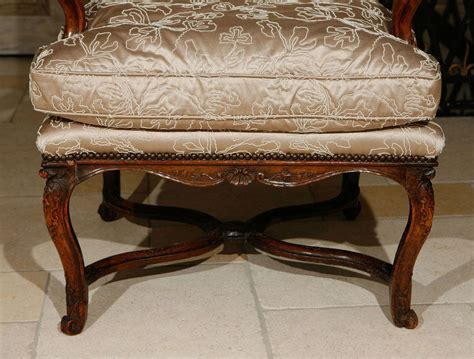 18th Century French Regence Single Walnut Armchair For