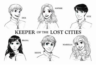 Keeper Lost Character Kotlc Cities Official Artwork