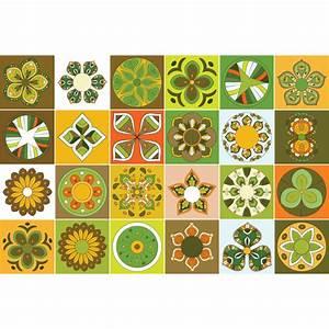 Stickers Carreaux De Ciment : 24 stickers carreaux de ciment manaus cuisine carrelages ~ Melissatoandfro.com Idées de Décoration