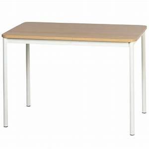 Table Cuisine Rectangulaire : table de cuisine rectangulaire en stratifi basic 4 ~ Teatrodelosmanantiales.com Idées de Décoration