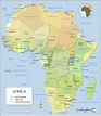 Political Map of Africa - Nations Online Project