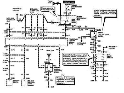 Ford Explorer Fuel Pump Wiring Diagram Forums