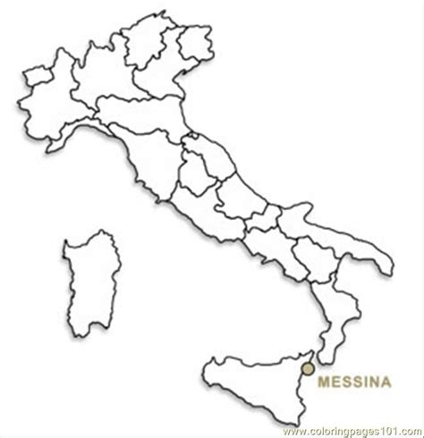 coloring pages italy mapb countries italy