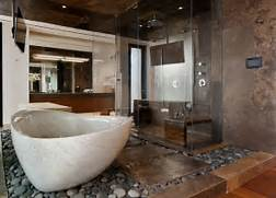 Cool Bathroom Ideas by 20 Brown Bathroom Designs Decorating Ideas Design Trends Premium PSD V