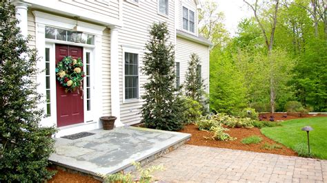 modern colonial house plans front yard landscaping ideas oxford ct landscape