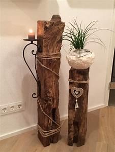 Fensterdeko Aus Holz : die besten 25 deko holz ideen auf pinterest nat rliche lichtlampe nat rliche stehlampen und ~ Markanthonyermac.com Haus und Dekorationen