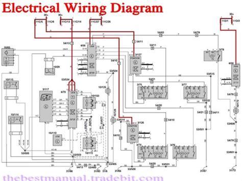volvo    electrical wiring diagram manual