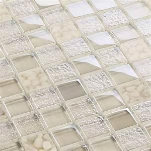 Mosaik Fliesen Frostsicher : glasmosaik fliesen mosaik crystal pebbles beige creme 8 mm sparpack 11 matten ebay ~ Eleganceandgraceweddings.com Haus und Dekorationen
