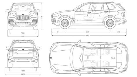 Bmw X5 Dimensions bmw x5 technical data and vehicle specs bmw ie