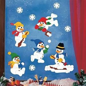 Basteln Mit Kindern Weihnachten Und Winter : die besten 25 fensterbilder winter ideen auf pinterest fensterbilder fensterbild schneemann ~ Watch28wear.com Haus und Dekorationen
