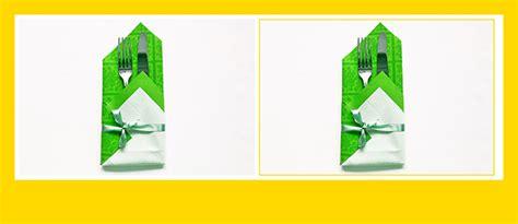 papierservietten falten bestecktasche sch 246 ne bestecktasche aus papierserviette falten