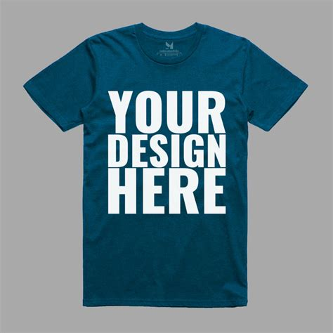 Free mockups and design tools. Realistic T-Shirt Mockup PSD | Free Mockups, Best Free PSD ...