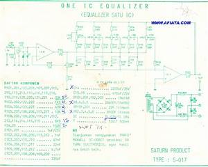 Equalizer 5 Chanel Using Ic Tl074 Tl084