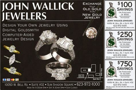 john wallick jewelers jewelry store  sun city west az
